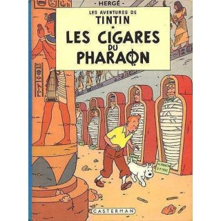 TINTIN - T04 - LES  CIGARES...