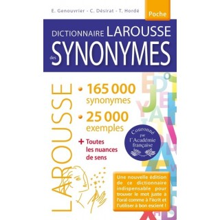 DICTIONNAIRE DES SYNONYMES...